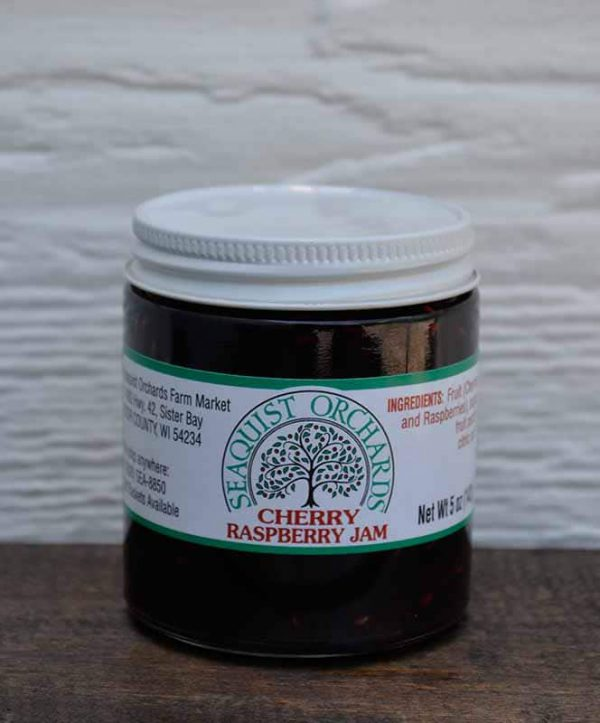 Cherry Raspberry Jam 5.5 oz-0