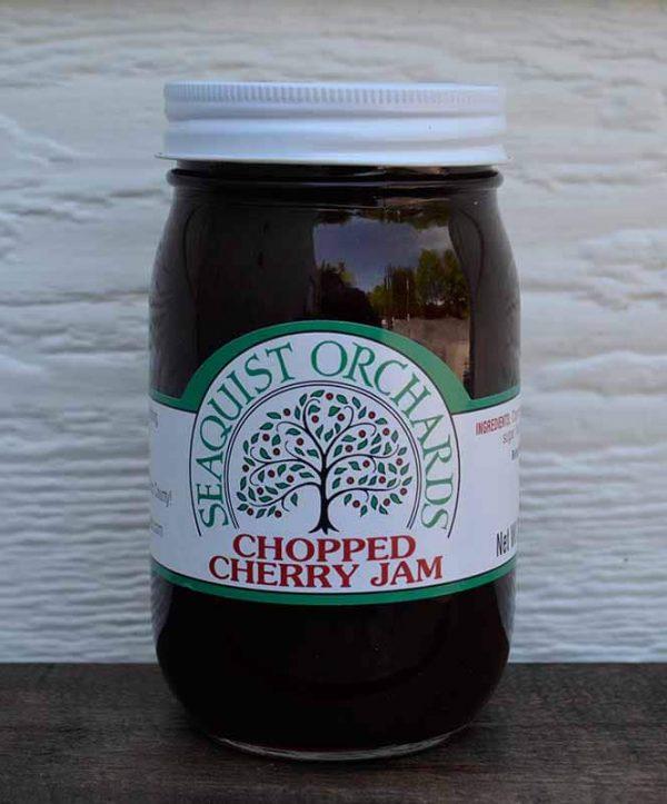 Chopped Cherry Jam Pint-0