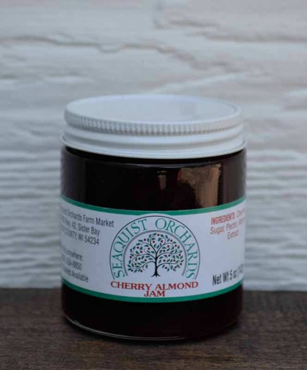 Cherry Almond Jam 5.5 oz-0