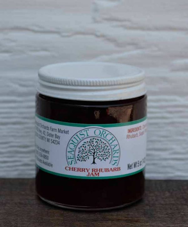 Cherry Rhubarb Jam 5.5 oz-0