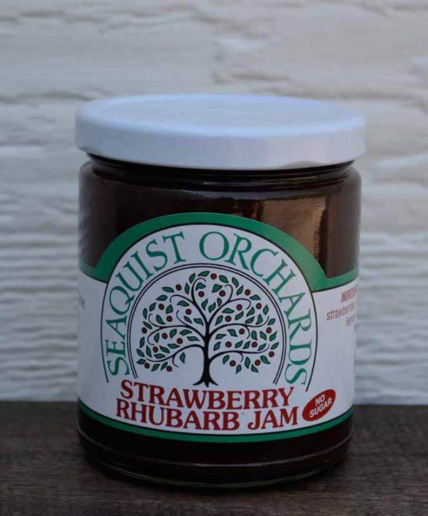 No Sugar Added Strawberry Rhubarb 1/2 pint-0