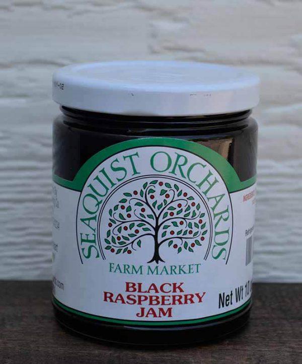 Black Raspberry Jam 1/2 pint-0
