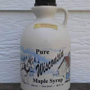 Quart Plastic Maple Syrup-0