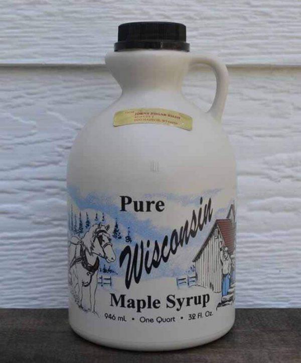 Quart Plastic Maple Syrup-0