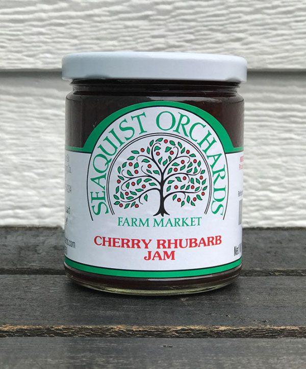 Cherry Rhubarb Jam 1/2 Pint-0