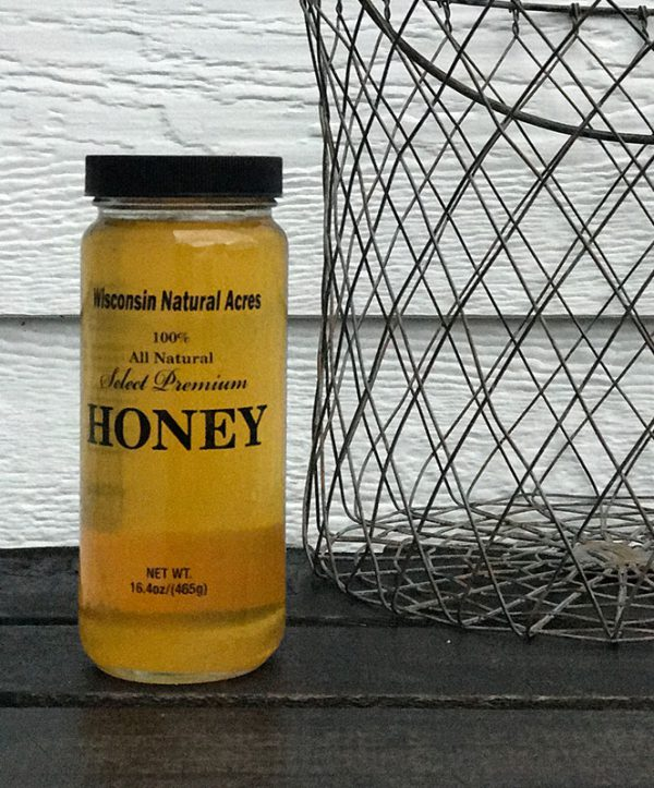 16.4 oz. Wisconsin Natural Acres Honey-0