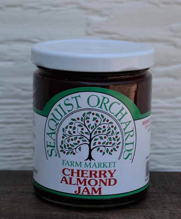 Cherry Almond Jam 1/2 pint-0